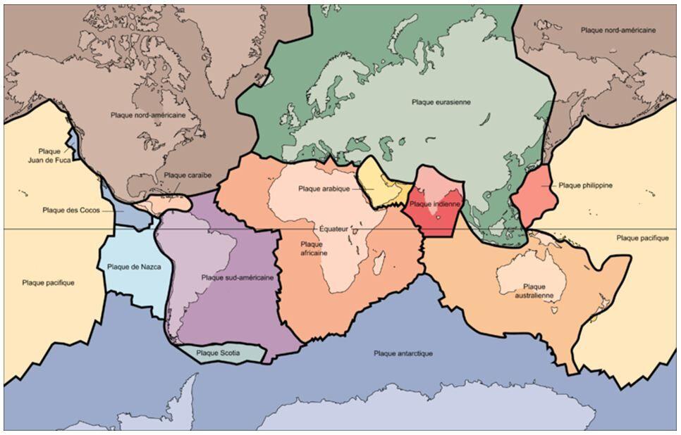 Les Plaques Tectoniques Alloprof